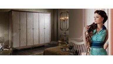 Lüks İvana Klasik Yatak Odası - Thumbnail