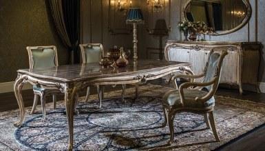 Lüks İvana Klasik Yemek Odası