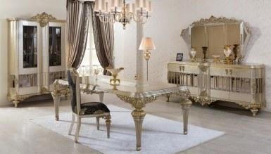 865 - Lüks Jasmina Art Deco Yemek Odası