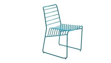 920 - Lüks Kafe Kare Yatay Sandalye