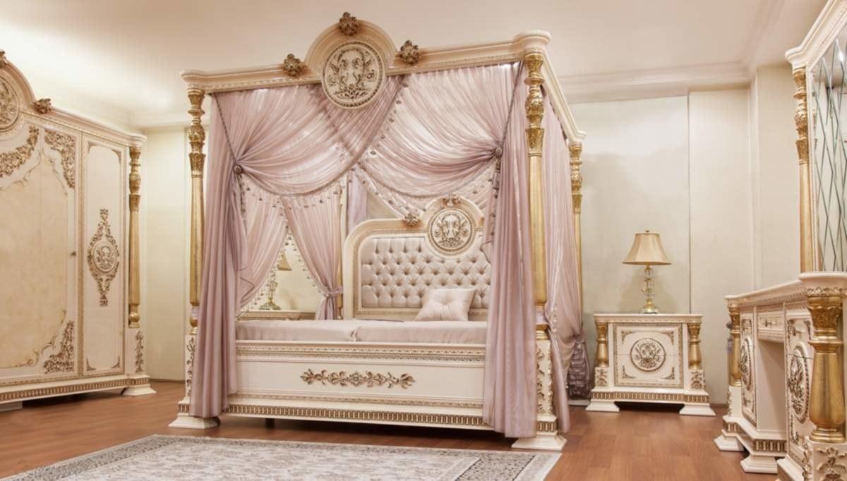 Lüks Kavesa Klasik Yatak Odası