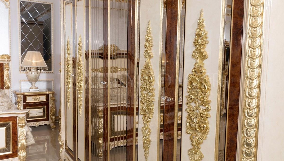Lüks Kaldore Klasik Yatak Odası