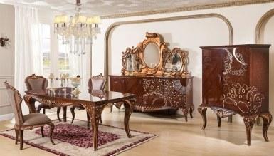 864 - Lüks Kandela Klasik Yemek Odası