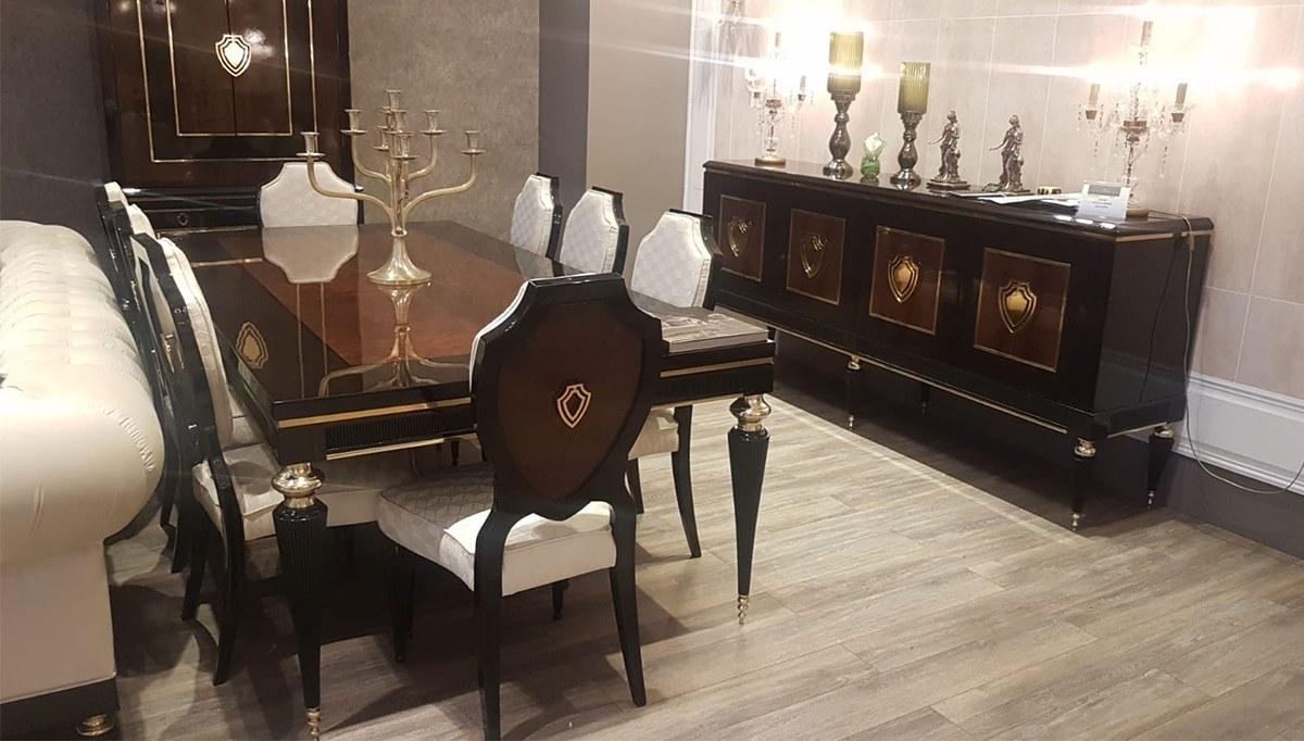Lüks Kantina Art Deco Yemek Odası