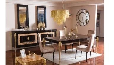 Lüks Kapello Klasik Yemek Odası - Thumbnail