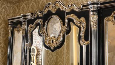 Lüks Kasablanka Klasik Yatak Odası - Thumbnail