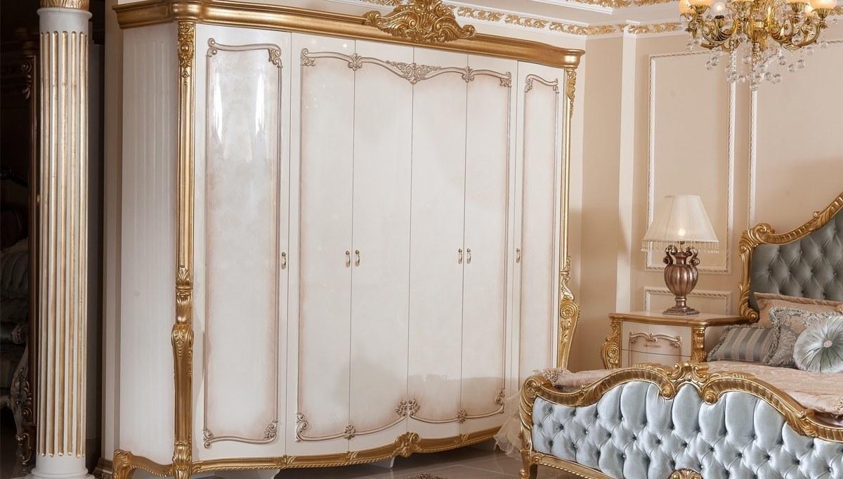 Lüks Kayıhan Desenli Klasik Yatak Odası