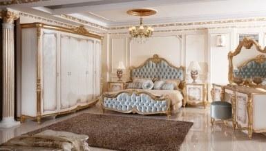 Lüks Kayıhan Desenli Klasik Yatak Odası - Thumbnail