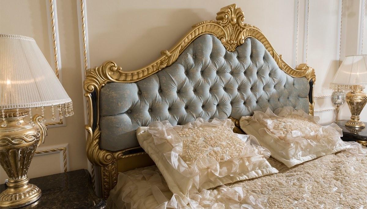 Lüks Kayıhan Siyah Klasik Yatak Odası