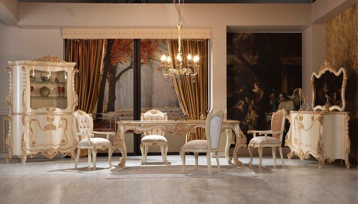 Lüks Kemare Klasik Yemek Odası