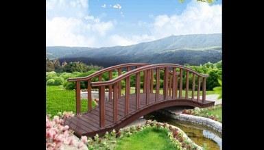 1016 - Lüks Kerpa Ahşap Köprü