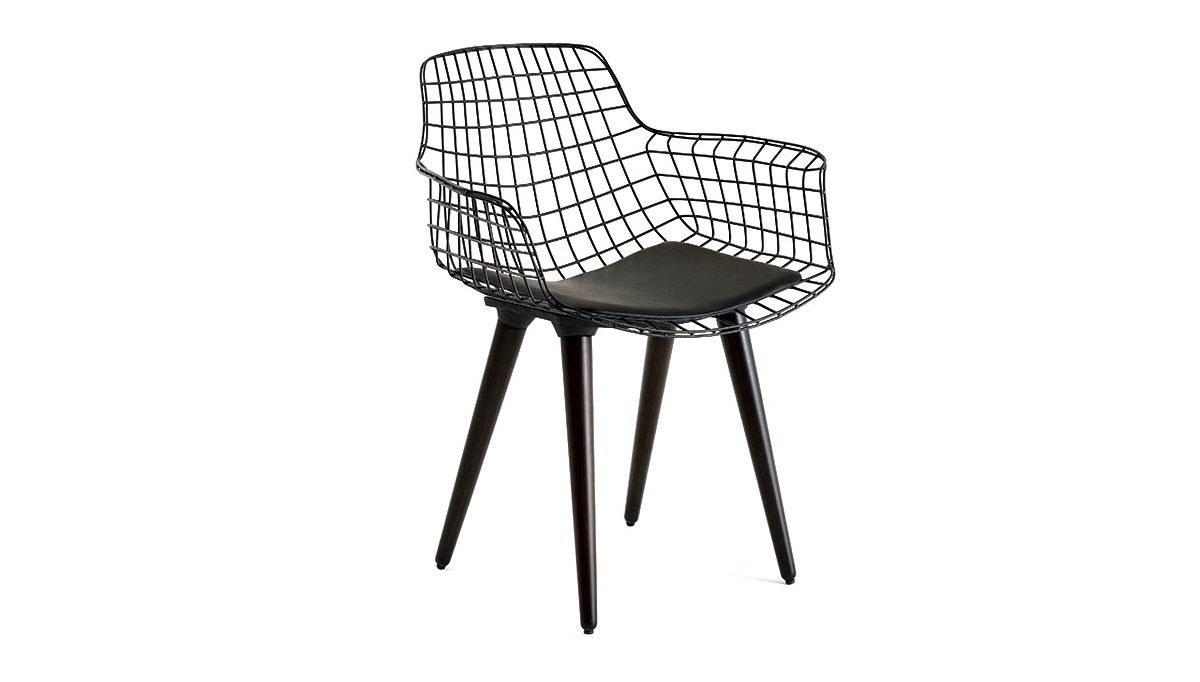 Lüks Kısa Zara Ahşap Ayaklı Sandalye