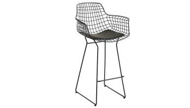920 - Lüks Kısa Zara Bar Sandalye