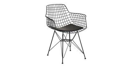 920 - Lüks Kısa Zara Piramit Ayaklı Sandalye