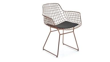920 - Lüks Kısa Zara U Ayaklı Sandalye