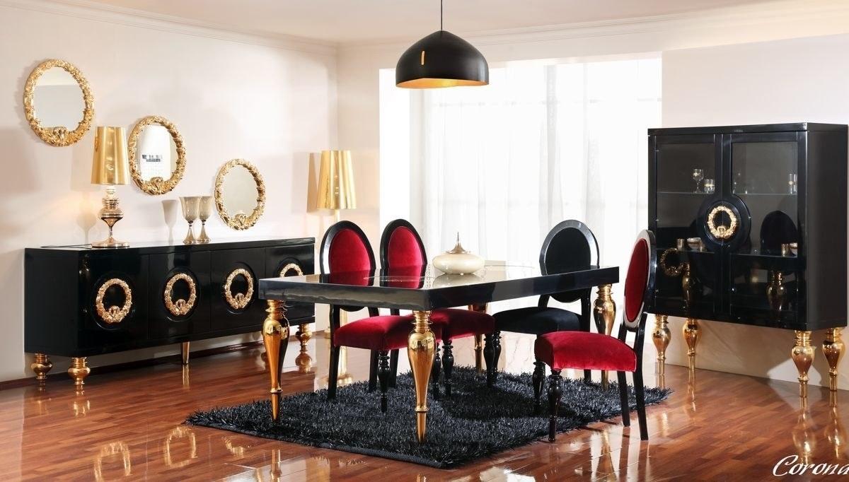 Lüks Klasik Moda Yemek Odası