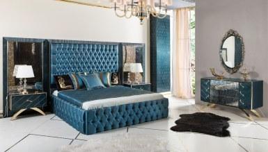 943 - Lüks Kordon Art Deco Yatak Odası