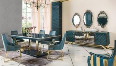 943 - Lüks Kordon Art Deco Yemek Odası
