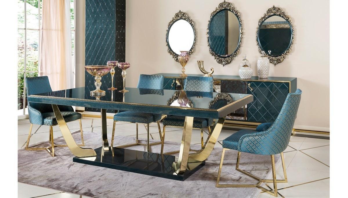 Lüks Kordon Art Deco Yemek Odası