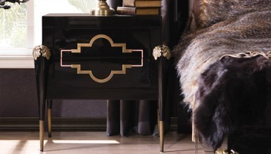 Lüks Korse Luxury Yatak Odası - Thumbnail