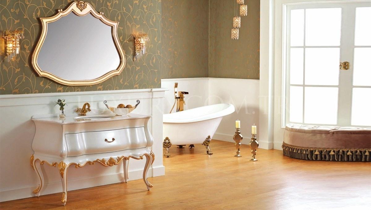Lüks Kortena Klasik Banyo Takımı