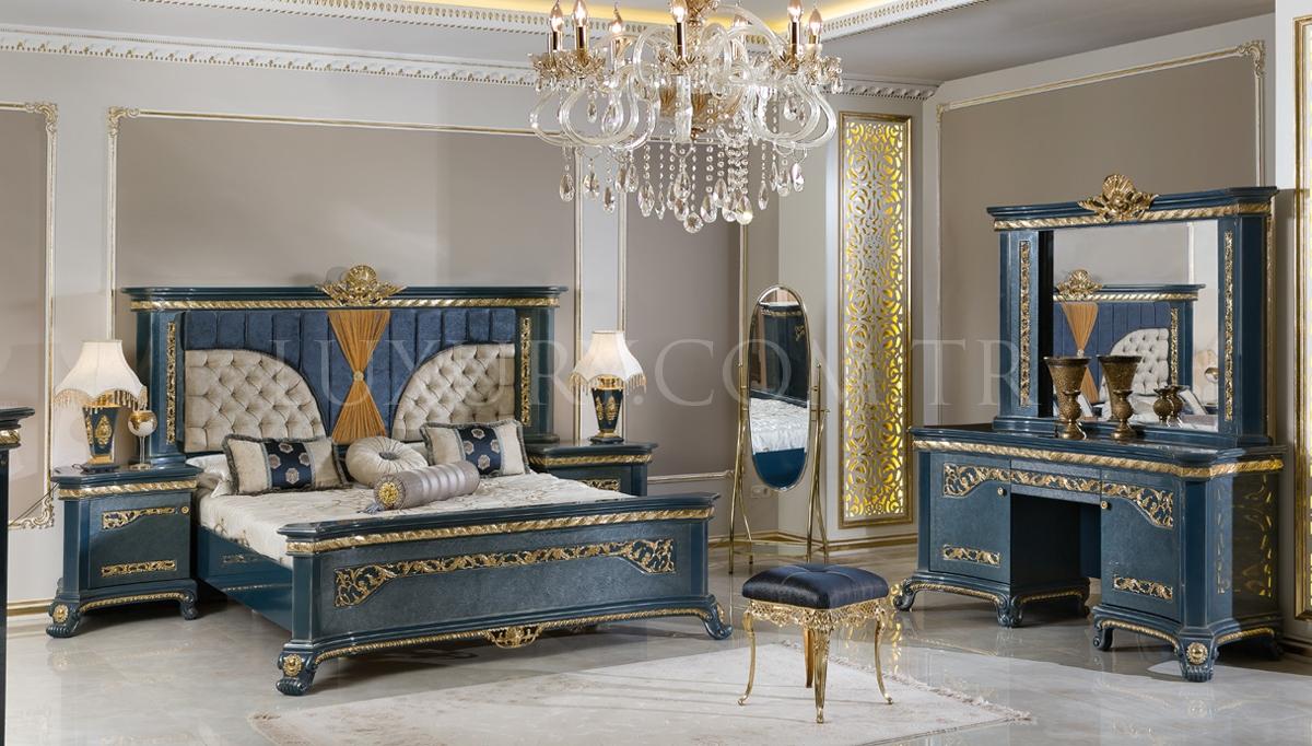 Lüks Kozena Klasik Yatak Odası
