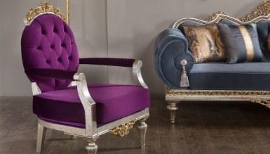 Lüks Kral Art Deco Koltuk Takımı - Thumbnail