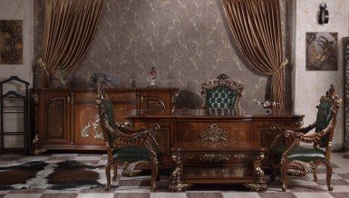 Lüks Kraliyet Klasik Кабинет руководителя - Thumbnail