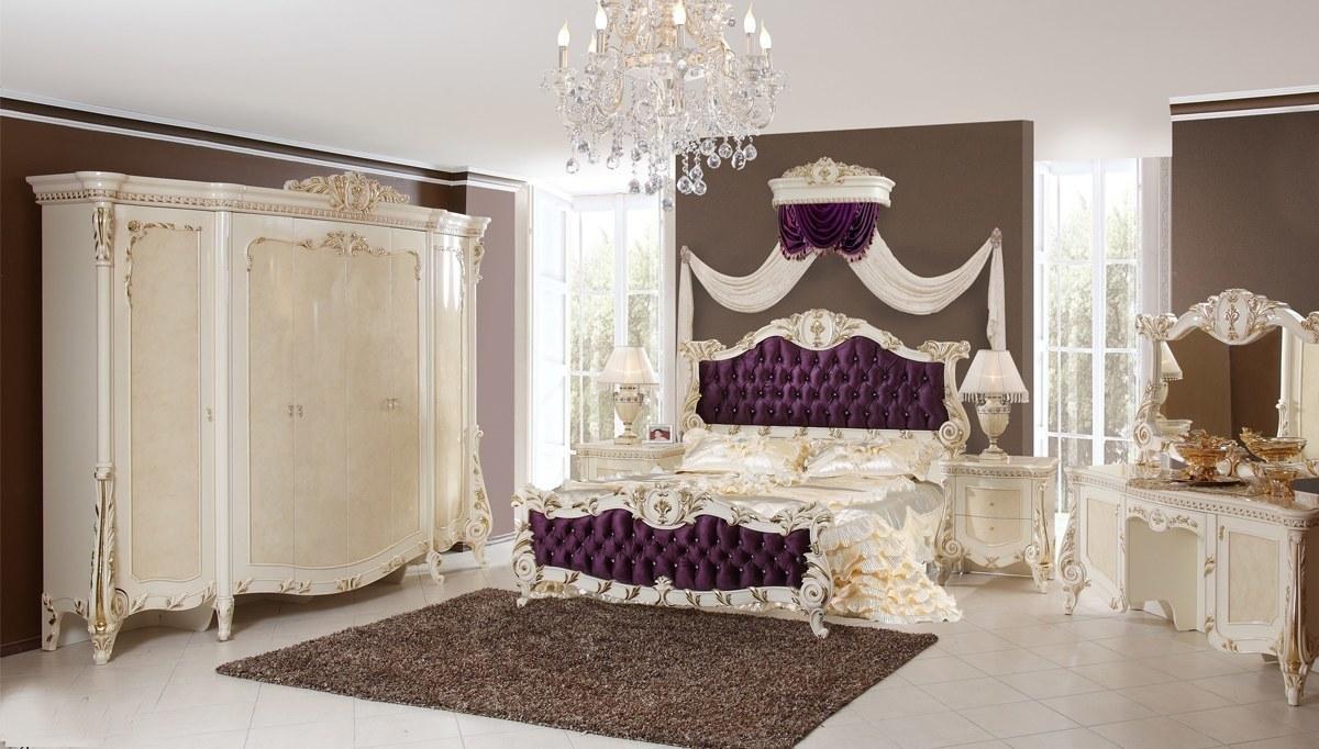 Lüks Kutalp Klasik Yatak Odası