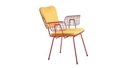 920 - Lüks Kuy Sarı Cmd Sandalye