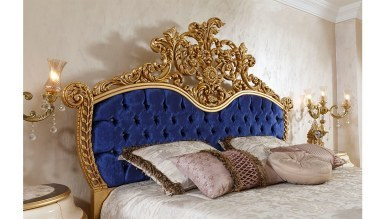 Lüks Lalezar Lake Oymalı Klasik Yatak Odası - Thumbnail