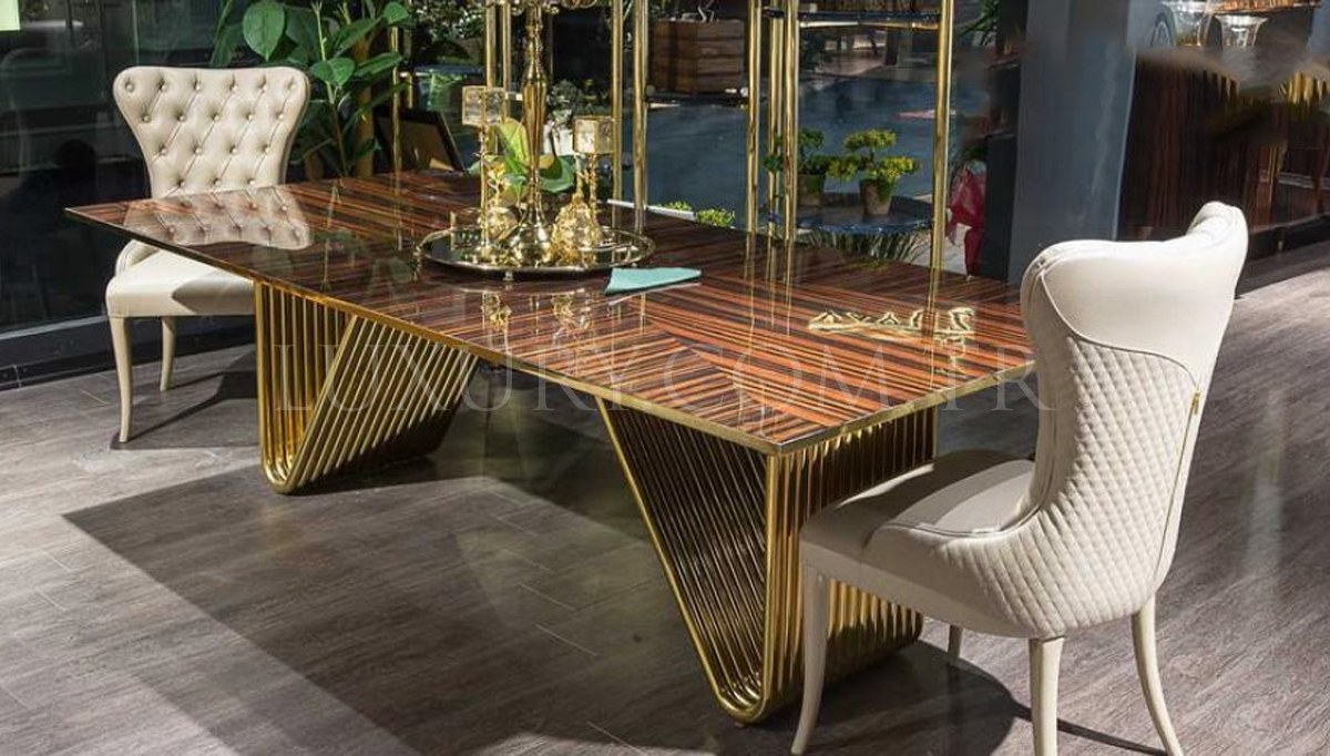 Lüks Landero Luxury Yemek Odası