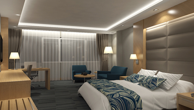 Lüks Lansemas Otel Odası - Thumbnail
