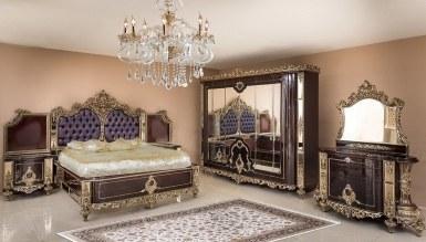 Lüks Lastana Klasik Yatak Odası