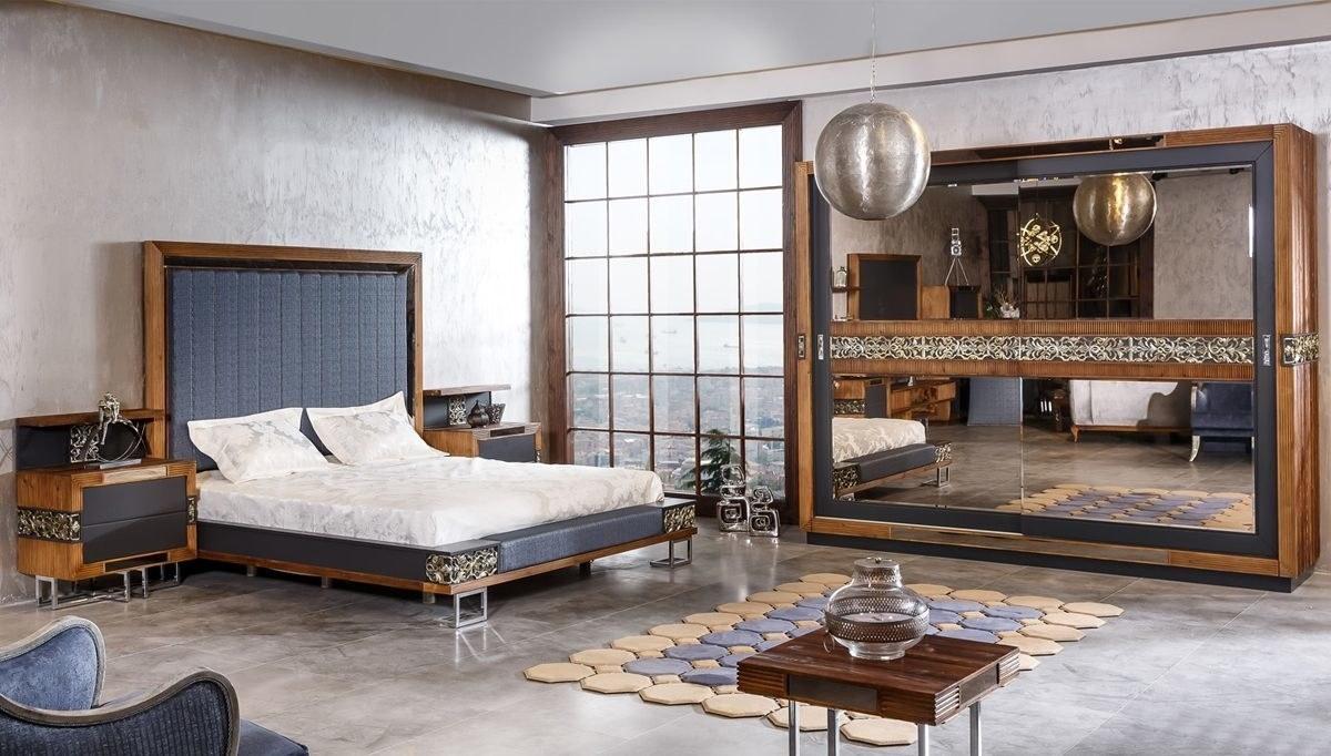Lüks Lastava Klasik Yatak Odası