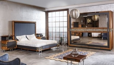 Lüks Lastava Klasik Yatak Odası - Thumbnail