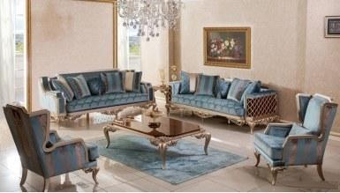 Lüks Lavanta Klasik غرفة الجلوس