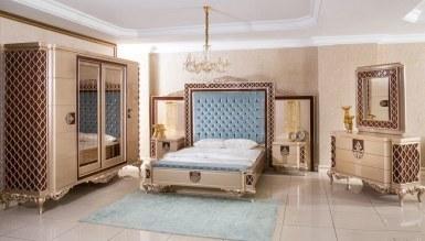 525 - Lüks Lavanta Klasik Yatak Odası