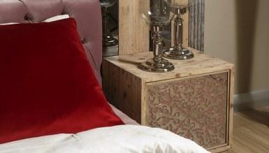 Lüks Lavesa Ahşap Yatak Odası - Thumbnail