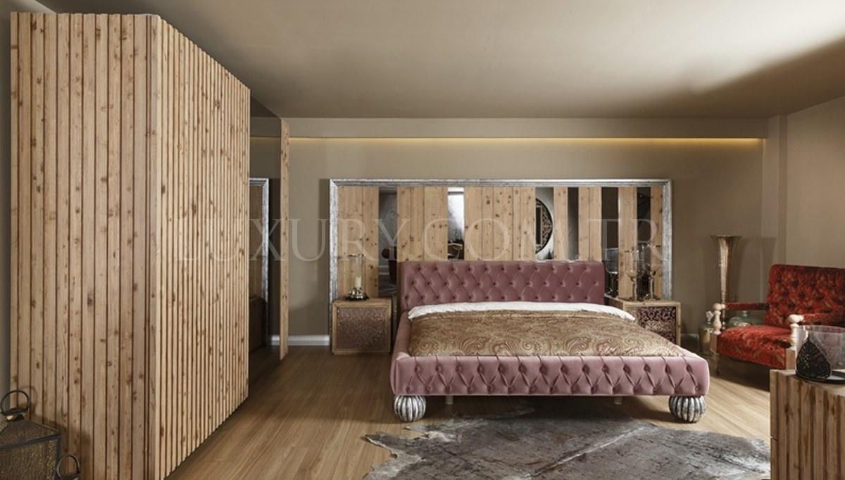 Lüks Lavesa Ahşap Yatak Odası