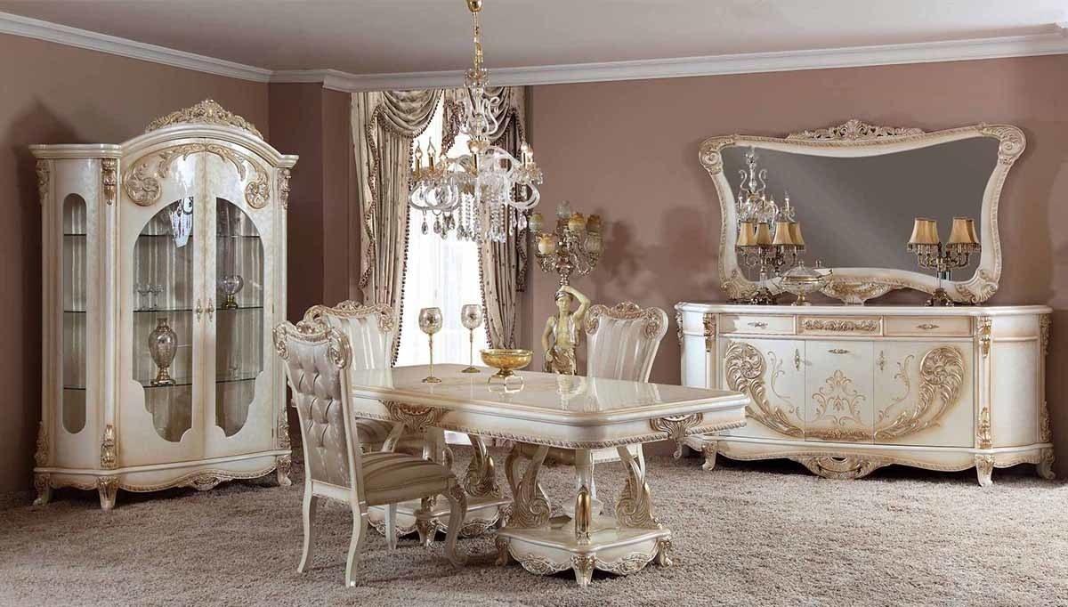 Lüks Layon Klasik Yemek Odası