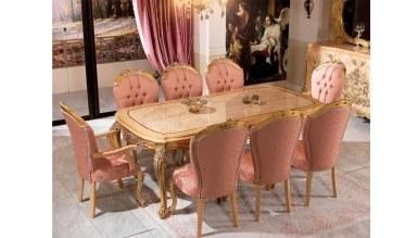 Lüks Lenarde Klasik Yemek Odası - Thumbnail