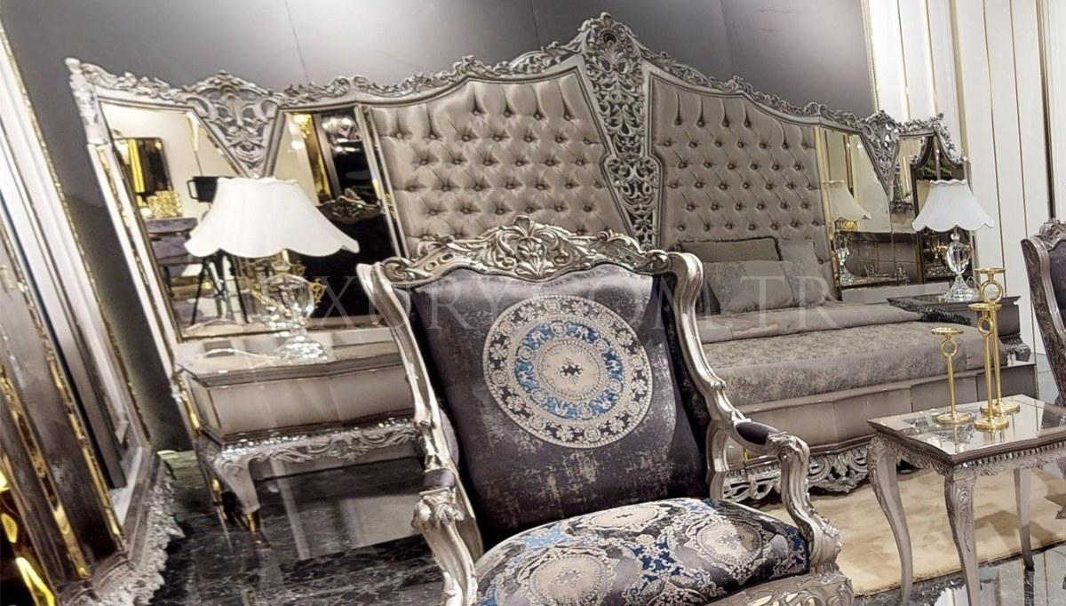 Lüks Leonar Klasik Yatak Odası