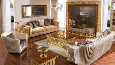 Lüks Leopar Luxury TV Ünitesi - Thumbnail