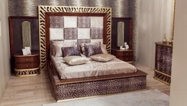Lüks Leopar Klasik Yatak Odası - Thumbnail