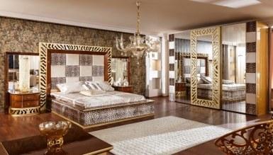 543 - Lüks Leopar Klasik Yatak Odası