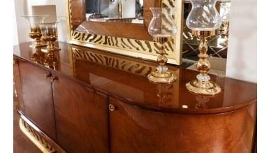 Lüks Leopar Luxury Yemek Odası - Thumbnail