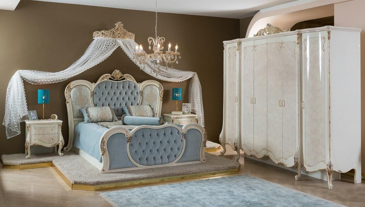 Lüks Lerina Klasik Yatak Odası