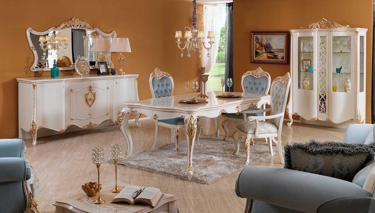Lüks Lerina Klasik Yemek Odası