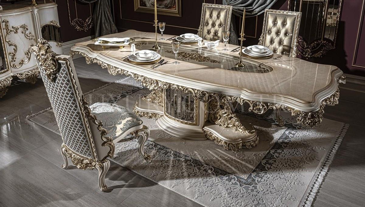 Lüks Lesora Klasik Yemek Odası